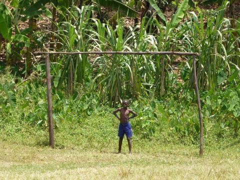 An African goal