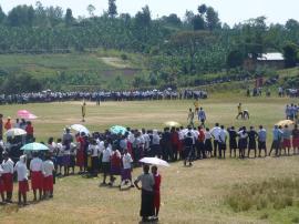 African secondary school football tournament