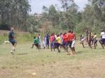 Football warm-up