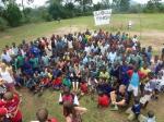 Fun run in Africa