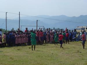 Netball tournament in Africa