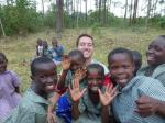 Pupils from Kazuru Primary School