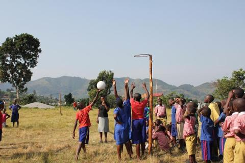 Volunteer Uganda netball tournament